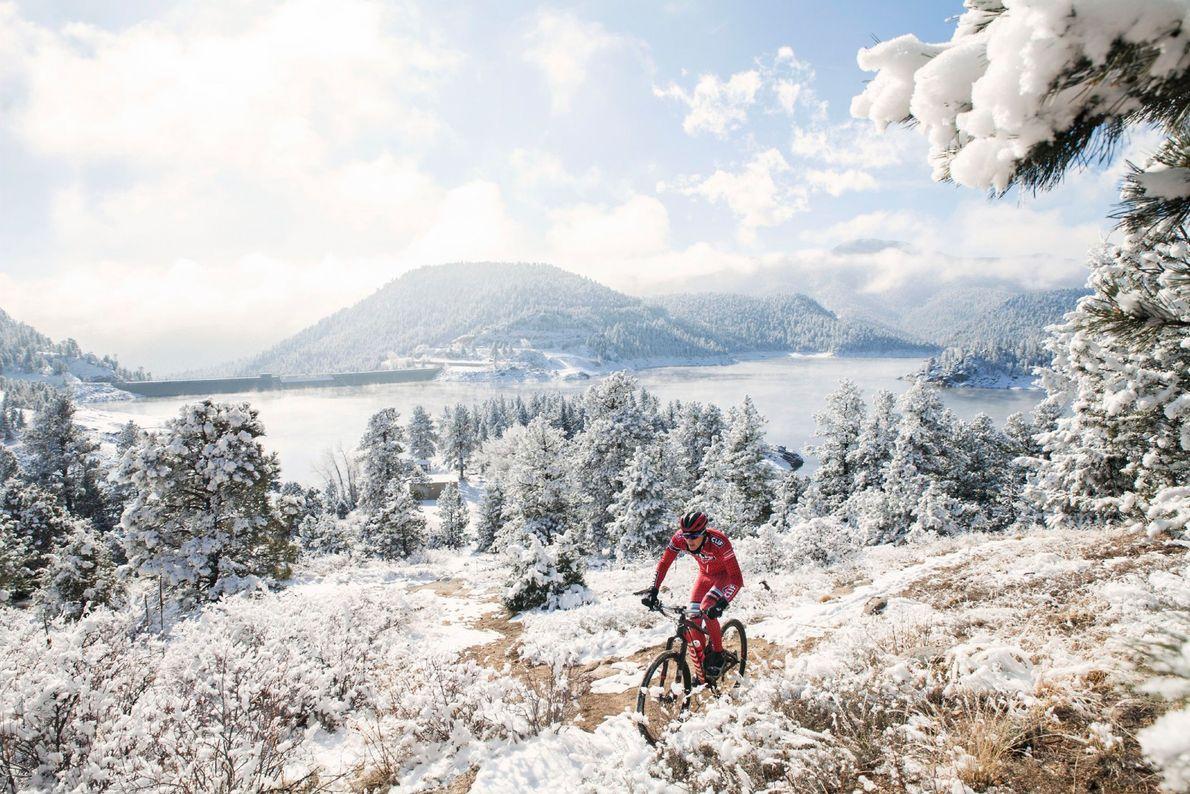 Il n'y a pas de trêve pour le cyclisme à Boulder, dans le Colorado, où les ...