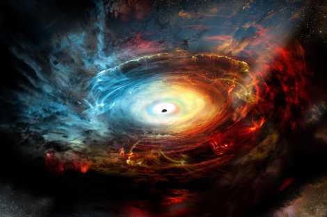 Des astronomes pourraient avoir capturé la toute première image d'un trou noir