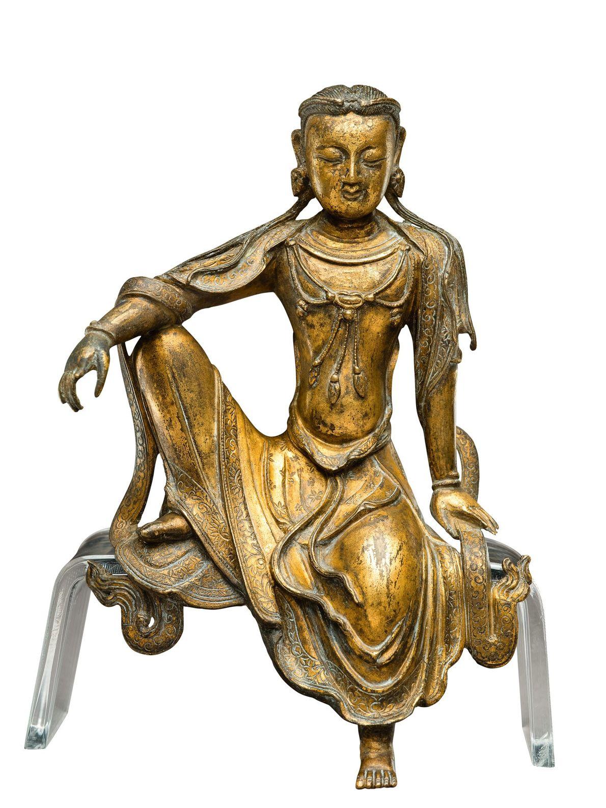 Même si Kubilai mettait un point d'honneur à respecter les traditions chinoises, il avait une forte ...