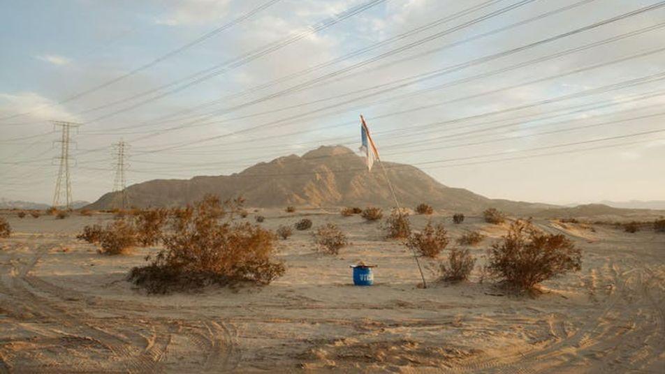 Sur la frontière USA-Mexique