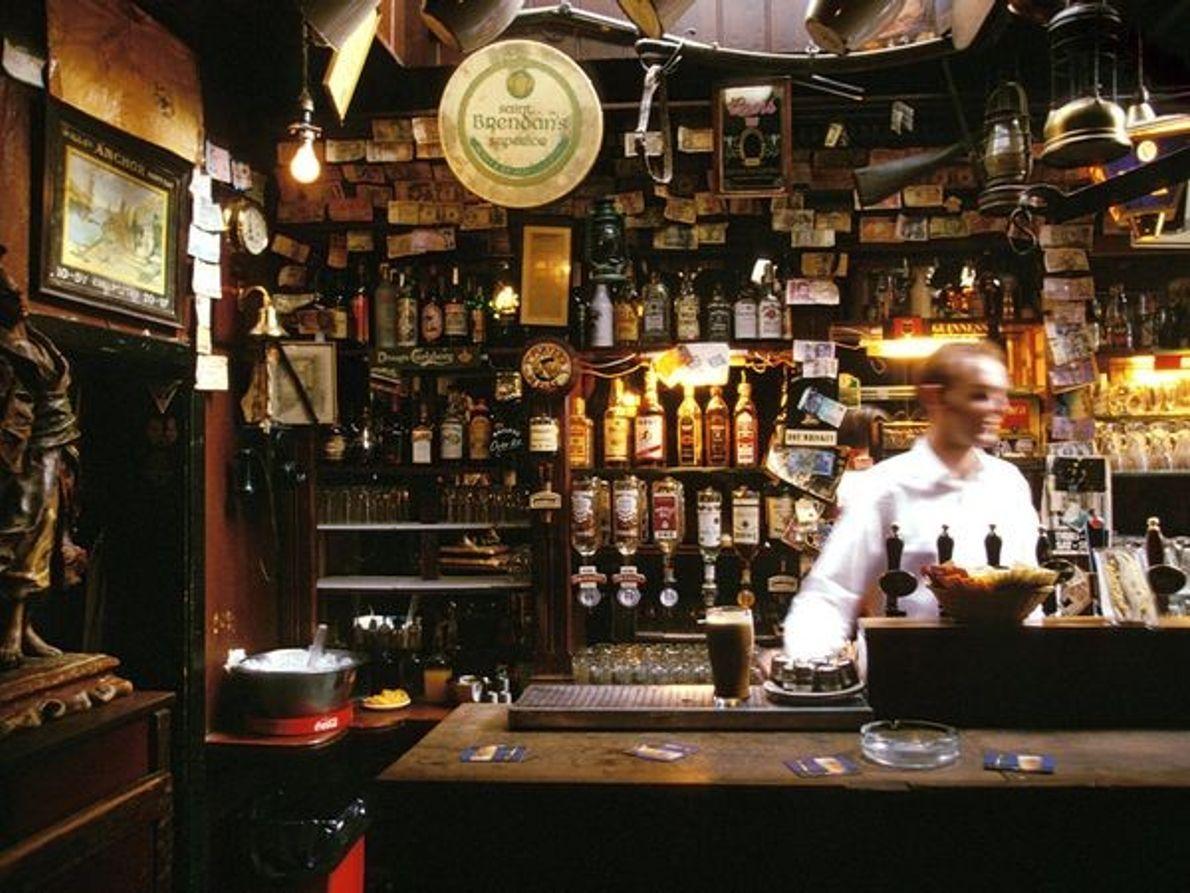Le pub The Brazen Head, à Dublin