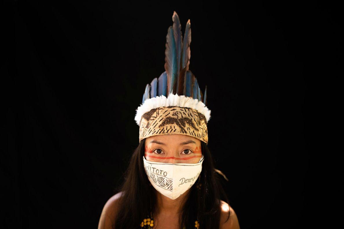 Membre de la tribu Witoto, Vanda Ortega, 33 ans, a ouvertement dénoncé les négligences du gouvernement envers ...