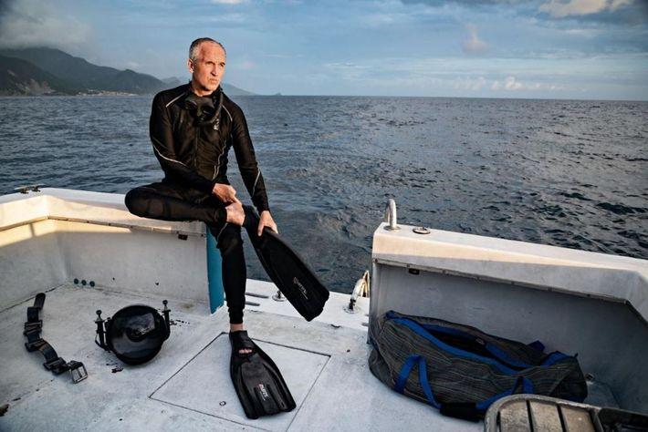Brian Skerry a passé neuf semaines au cours des deux dernières années à photographier des cachalots ...