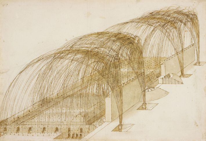 Malgré ses opinions pacifistes, Léonard de Vinci était architecte et ingénieur pour Cesare Borgia, chef des ...
