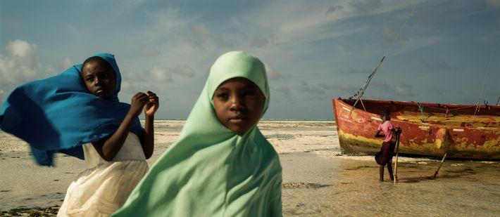 Rencontre avec Mtumwa, Mariam et Haisam à Jambiani Mfumbzi – Zanzibar, Tanzanie, 2019 - À marée ...
