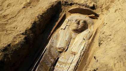 2 000 ans séparent ces sarcophages