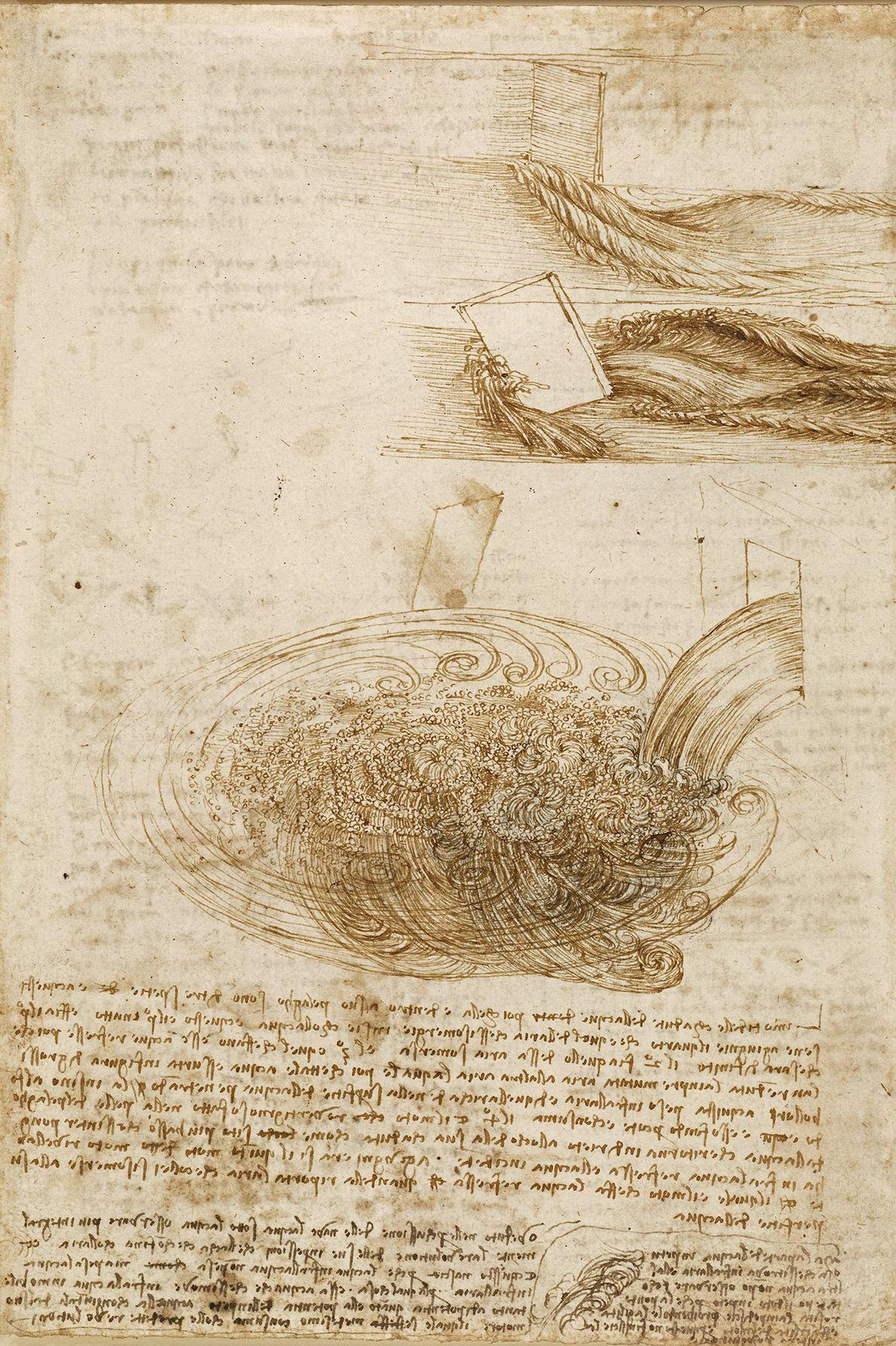 Léonard a non seulement observé et documenté la nature dans ses cahiers mais également lancé des ...