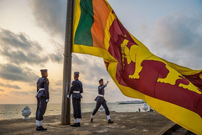 Cérémonie du drapeau