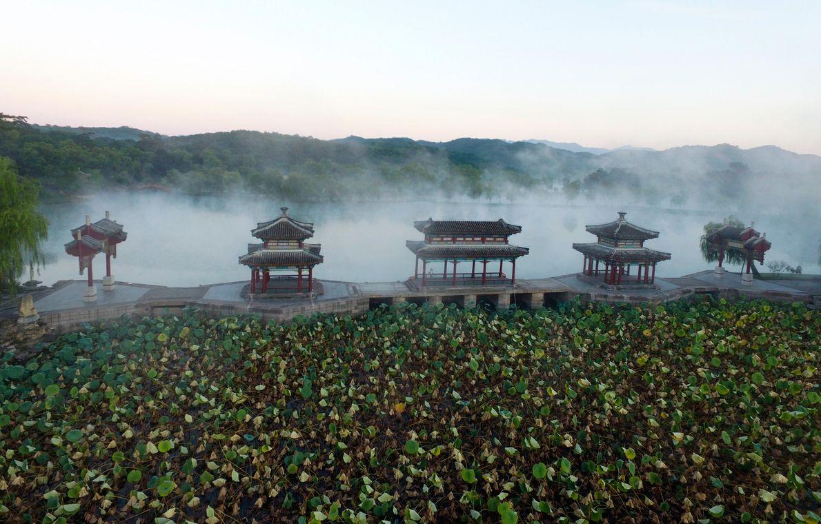 Résidence de montagne à Chengde, en Chine