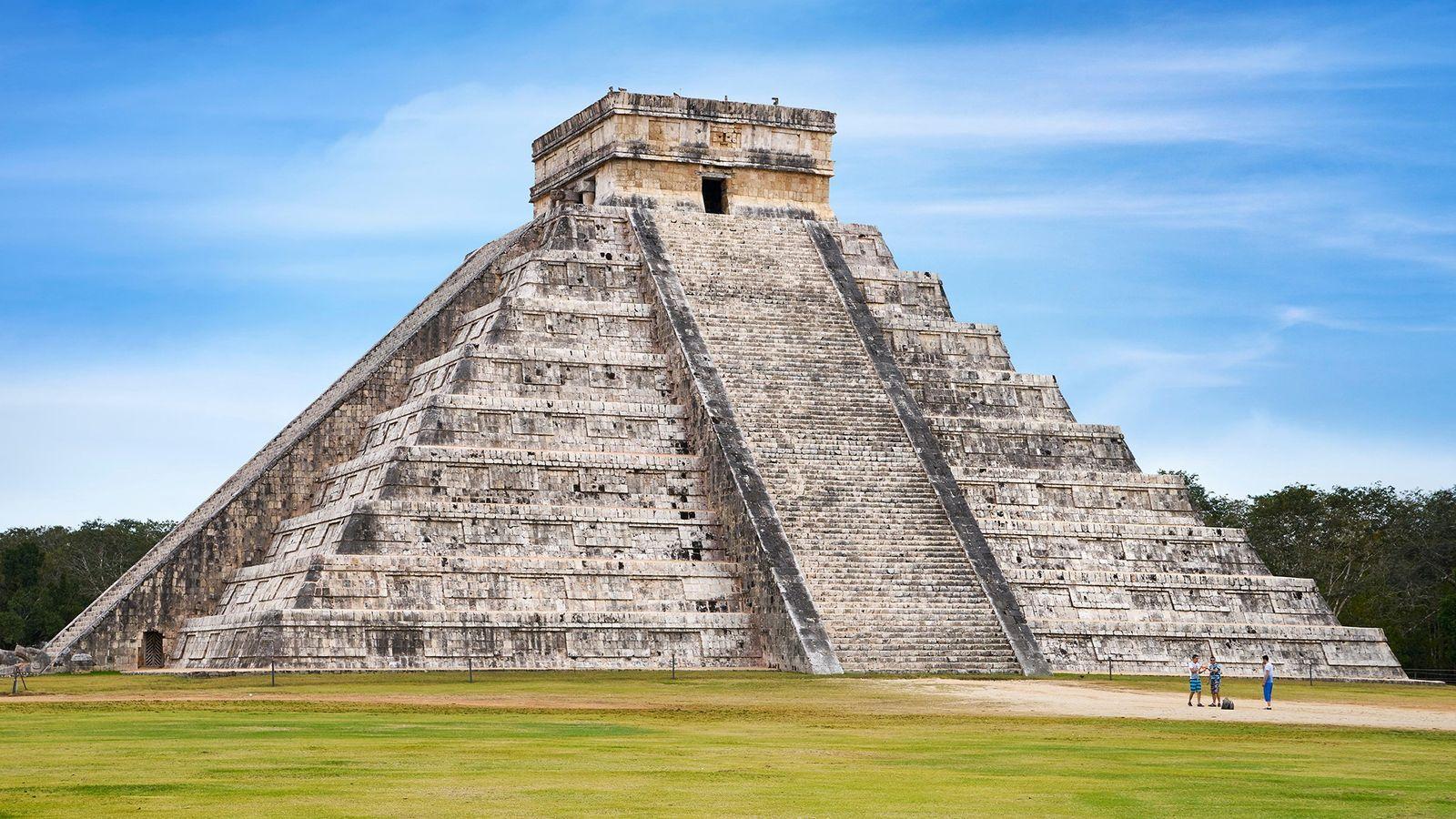 Temple de Kukulkan à Chichén Itzá, au Mexique