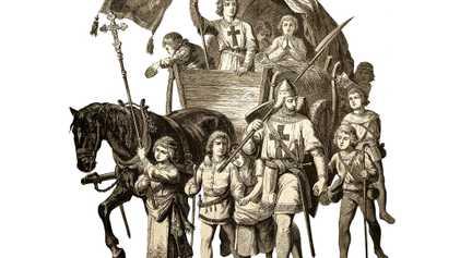 La Croisade des enfants est partie pour la Terre sainte en 1212. Elle n'est jamais arrivée.
