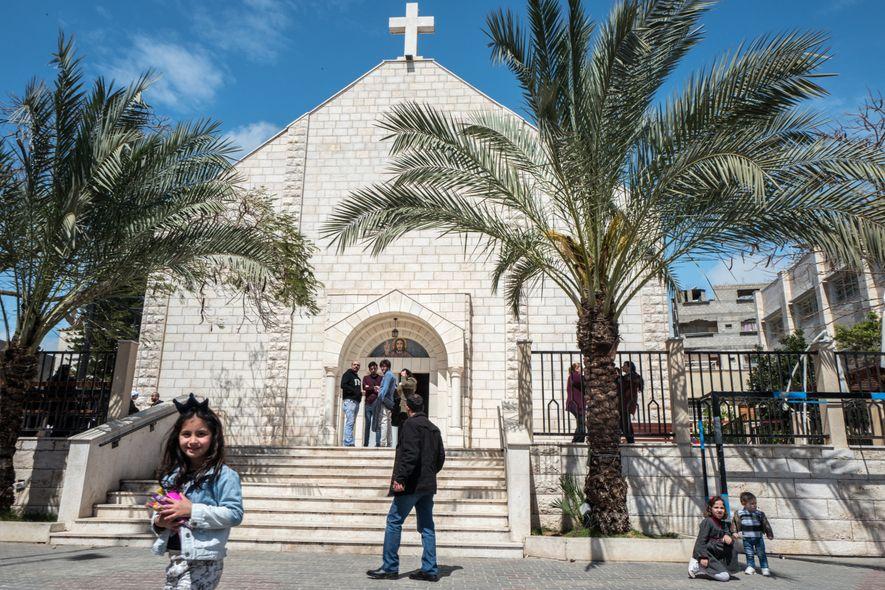 Les derniers chrétiens de Gaza rêvent d'exil