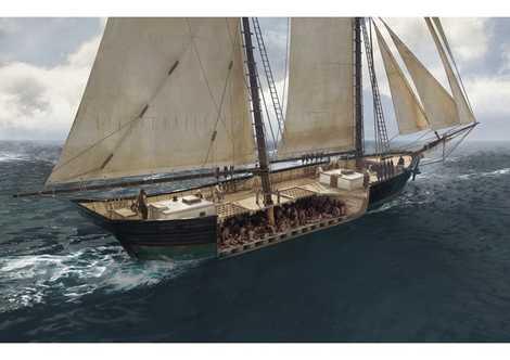 Le dernier navire d'esclaves
