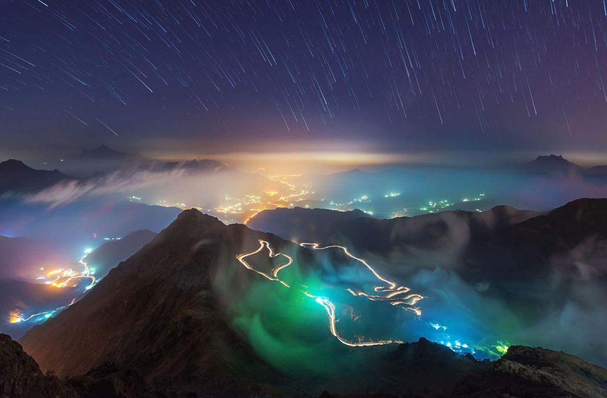 La montagne du roi Khalid, en Arabie saoudite.