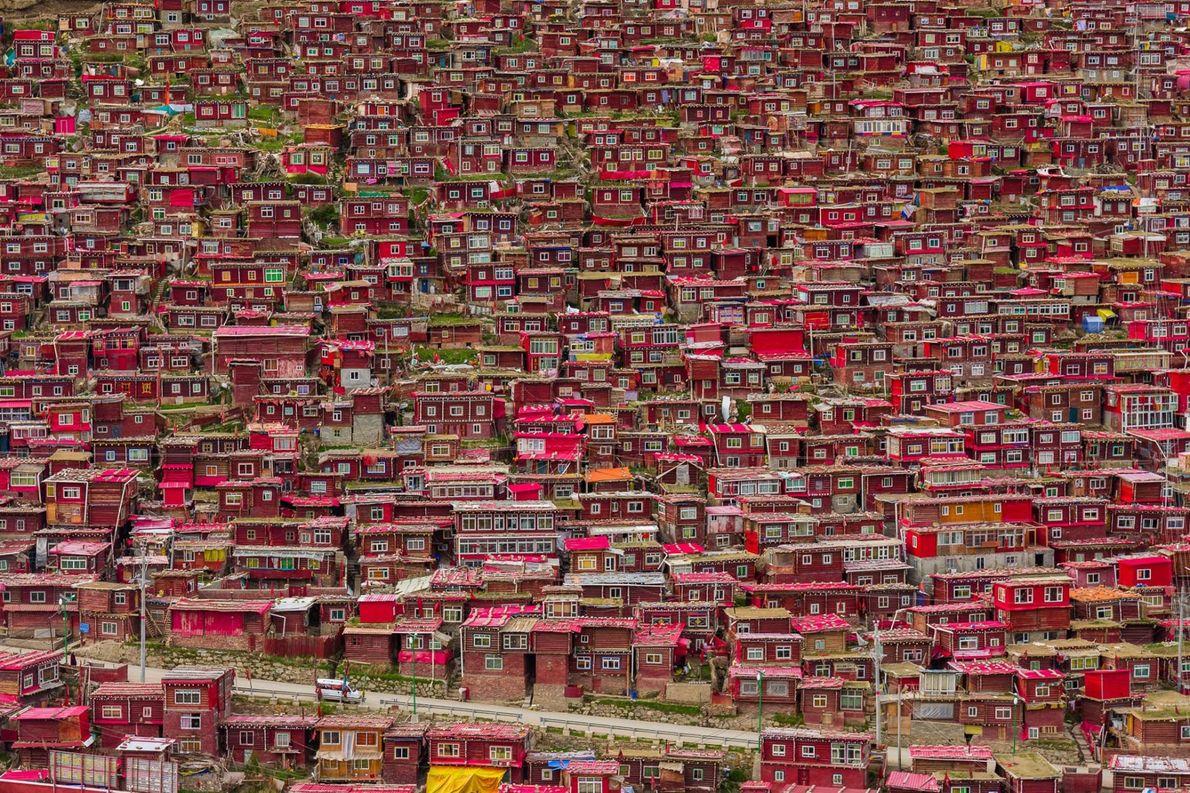 Seda, dans la province du Sichuan, en Chine.