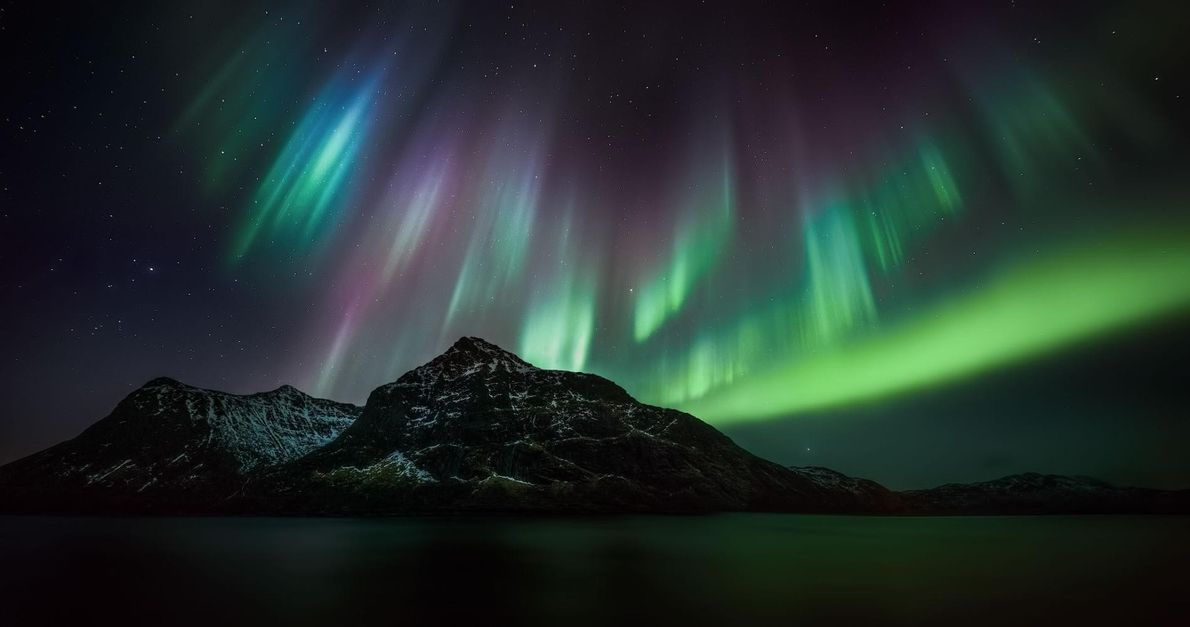 Les îles Lofoten, en Norvège.
