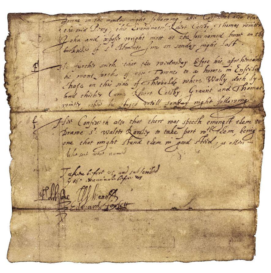 Sur les ordres du maître-espion de Jacques Ier, Robert Cecil, Fawkes a été torturé sur le ...