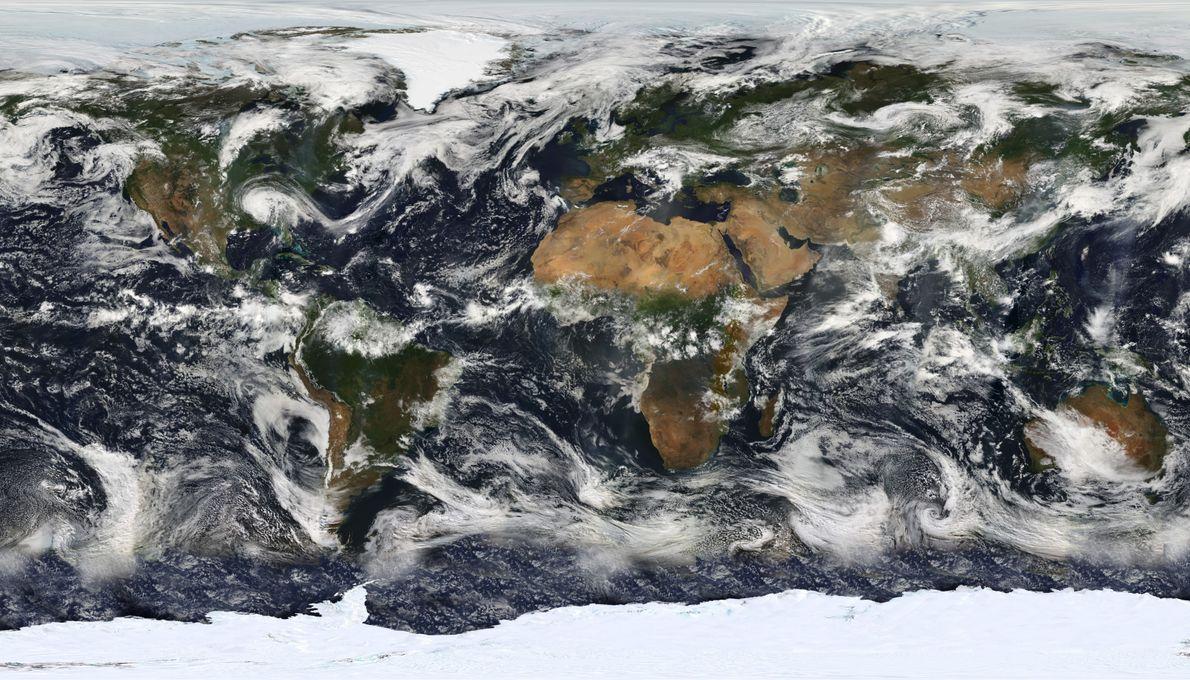 Coup de vent sur la planète