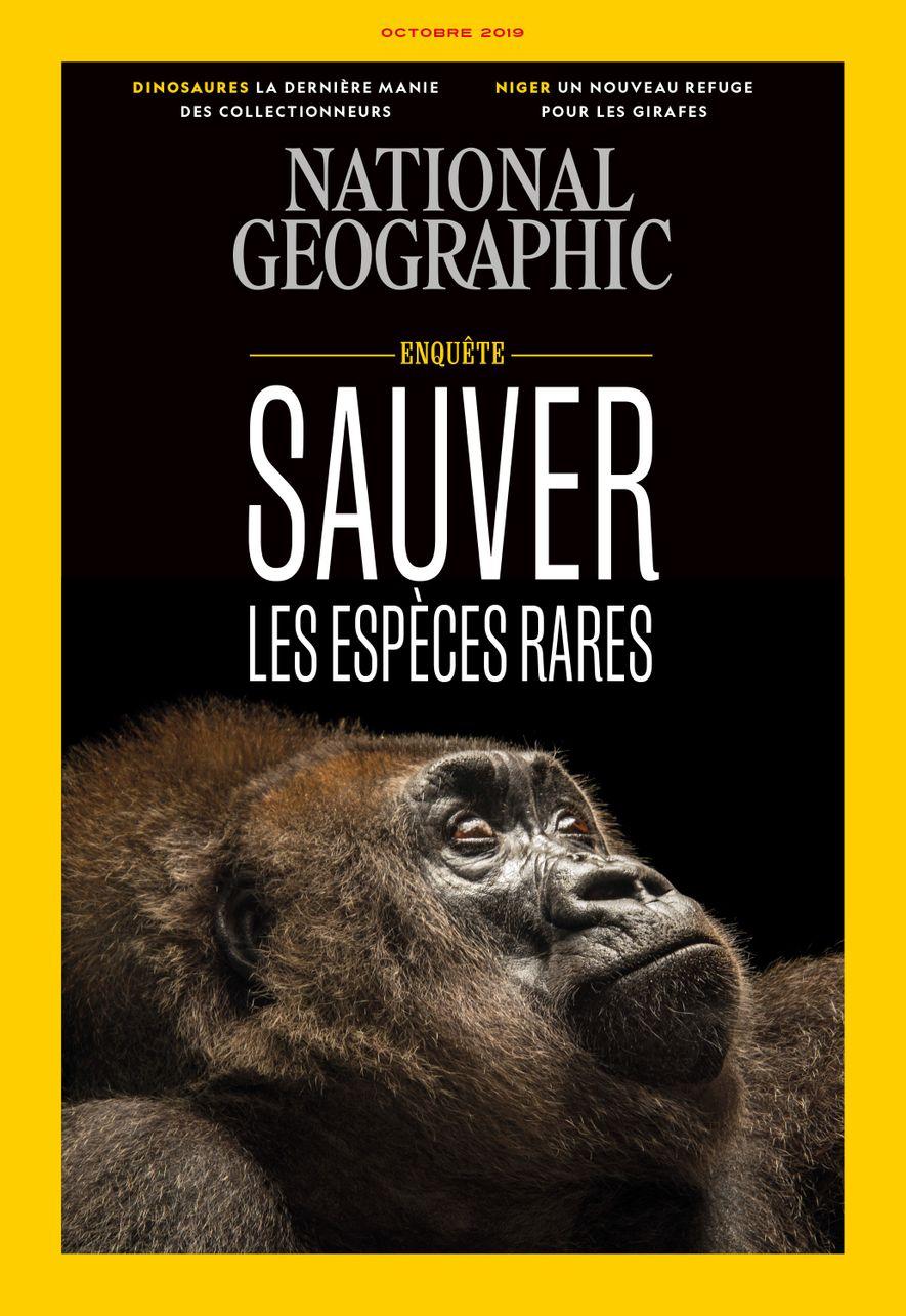 Magazine National Geographic d'octobre 2019 : Sauver les espèces rares