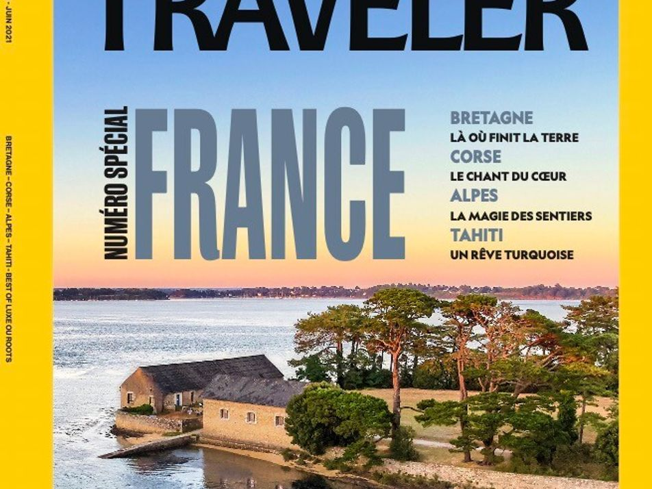 Sommaire du magazine National Geographic Traveler n° 22 : Numéro spécial France