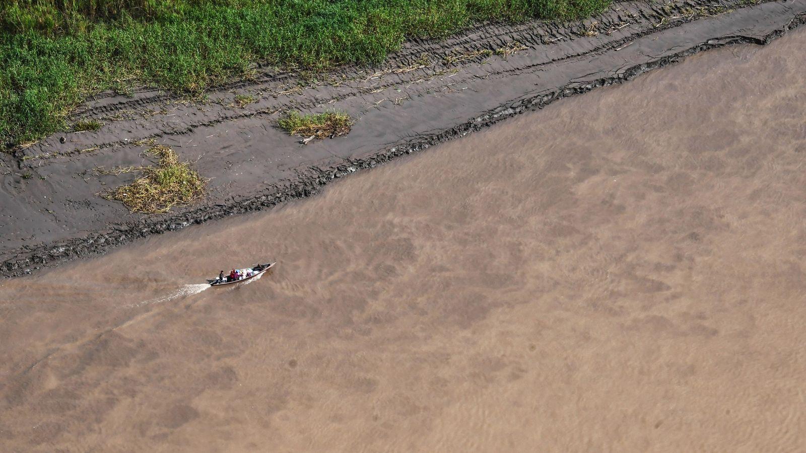 La rivière Javari et ses affluents forment un réseau de voies navigables qui mènent au territoire ...