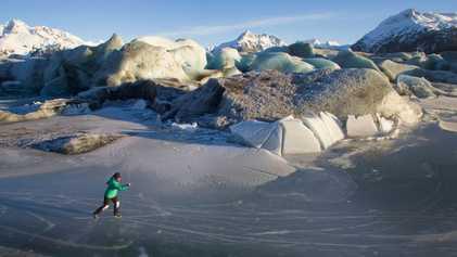 États-Unis : à la découverte des patinoires sauvages