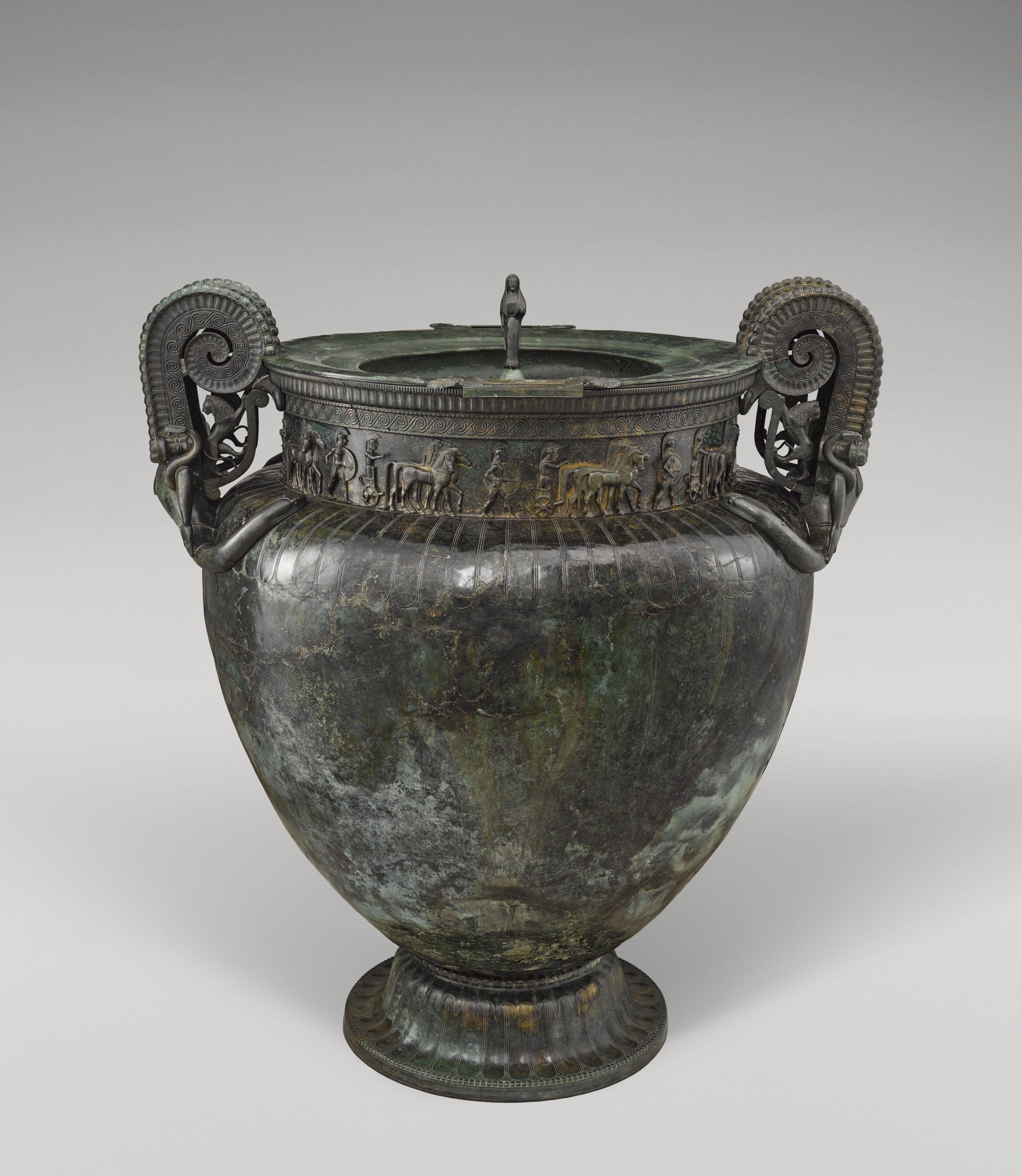 La Dame de Vix, une femme à l'héritage celte et grec