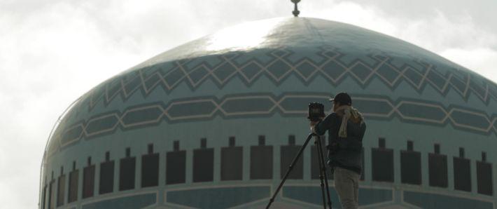Amman, Jordanie, 2019 - Dôme de la mosquée King Abdullah