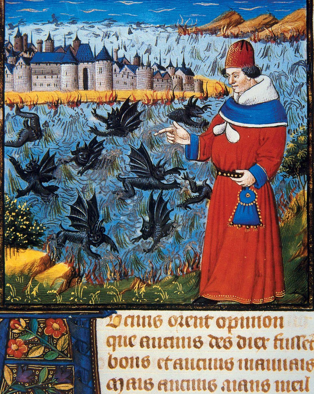 Saint Augustin (AD 354-430), considéré aujourd'hui comme l'un des auteurs chrétiens les plus importants depuis saint ...