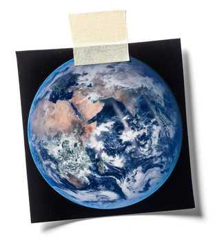 La Terre.