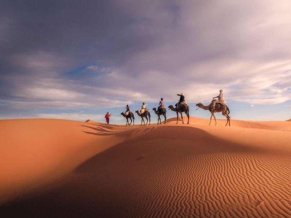 15 photos d'aventures à travers le désert