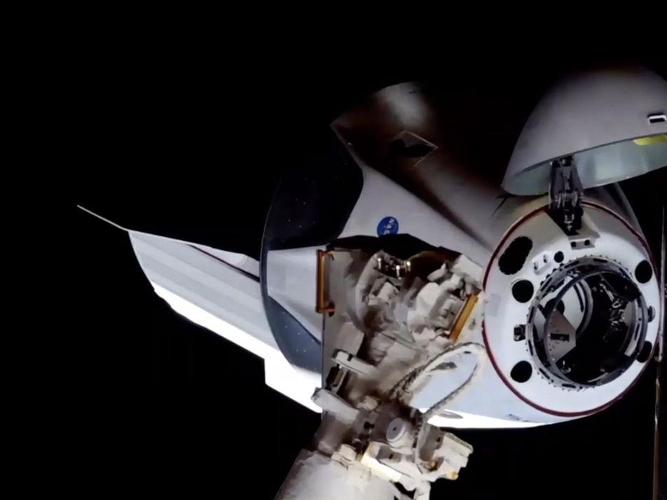 Lancement réussi de la capsule Crew Dragon en images