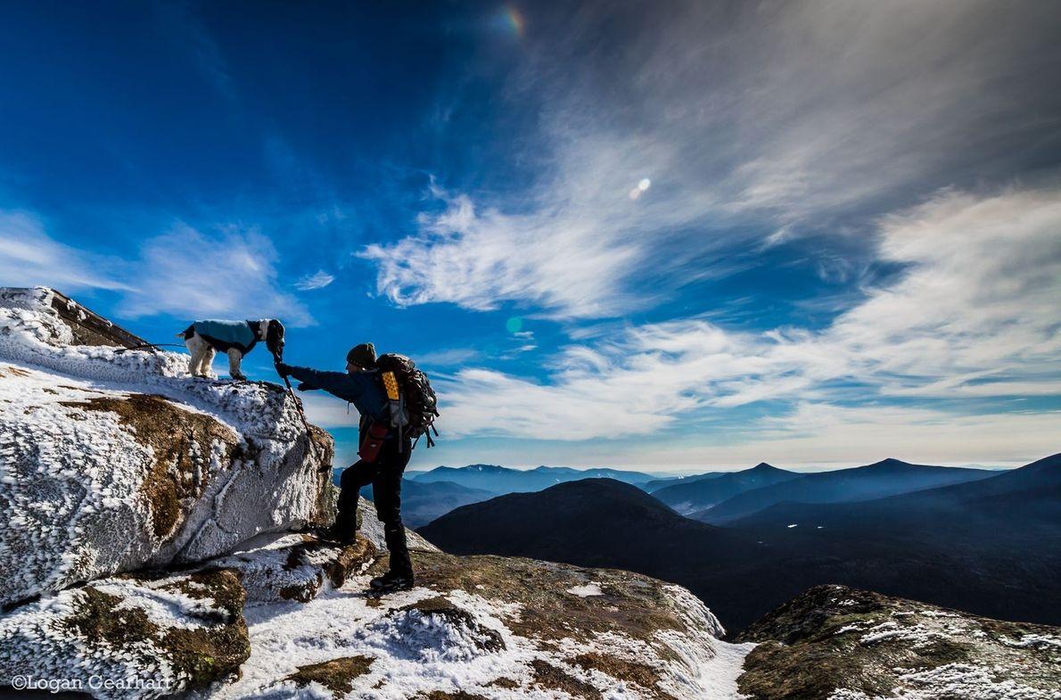 « Tandis que nous nous approchons de l'étape finale en direction du sommet du mont Garfield ...