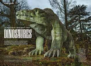 Le nouveau portrait des dinosaures.