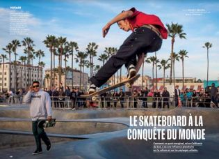 Le skateboard à la conquête du monde.