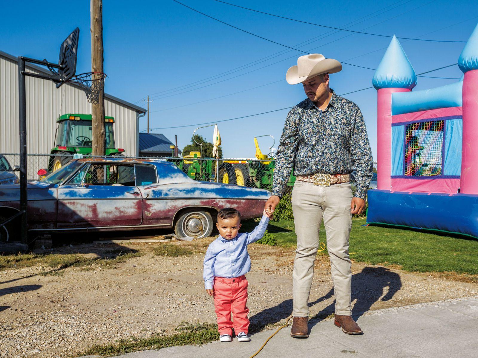 Les migrants latinoaméricains sont venus à Wilder (Idaho) en tant qu'ouvriers agricoles, dans la seconde moitié ...