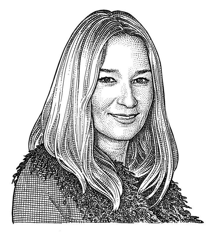 Julie De Libran, directrice artistique chez Sonia Rykiel.