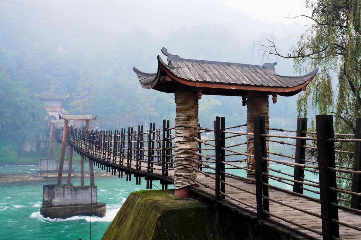 Mont Qingcheng et système d'irrigation de Dujiangyan
