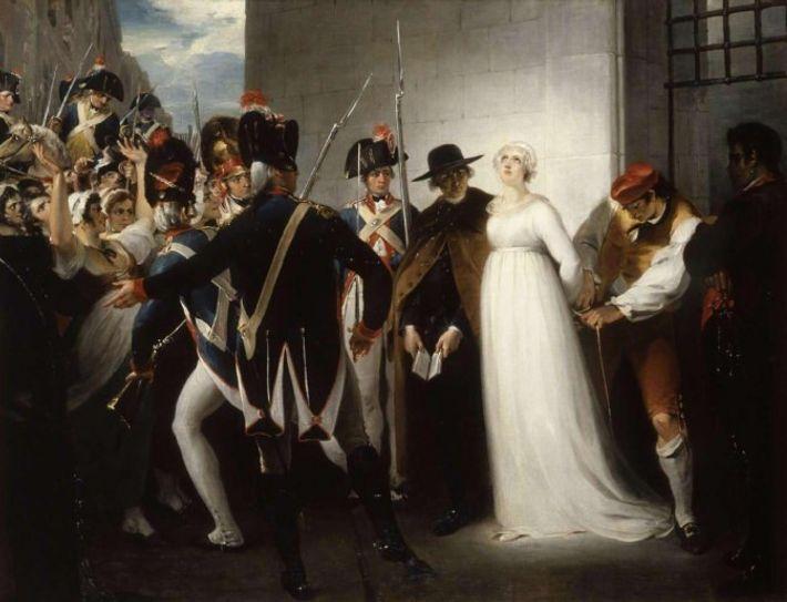 Marie-Antoinette conduite à son exécution le 16 octobre 1793 - Oeuvre de William HAMILTON (1751 - ...