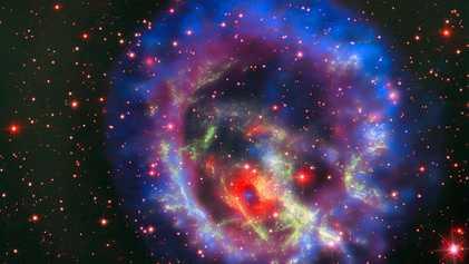 Des astronomes auraient été les témoins de la création d'un trou noir