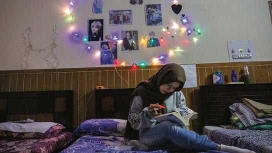 Farheen, 22 ans, une autre Hazara de Quetta, étudie la littérature anglaise à Islamabad. Elle effectue ...