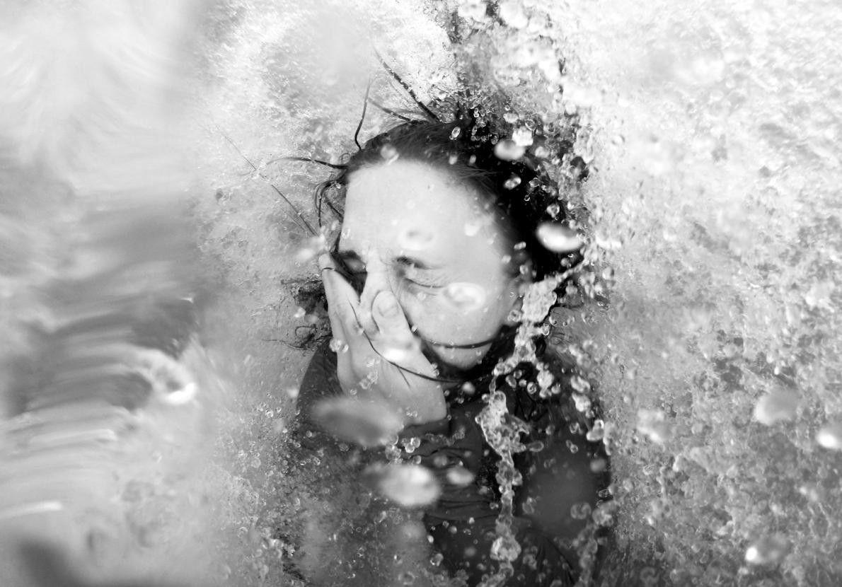 """""""Je savais que je voulais prendre une image du Gange que je n'avais jamais vue auparavant, ..."""