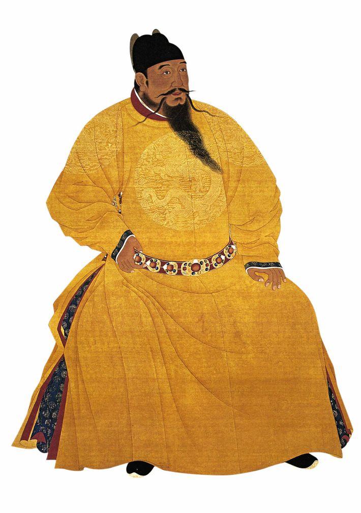 Protecteur de Zheng He, l'empereur Ming Yongle - représenté ici dans une illustration du 20e siècle ...