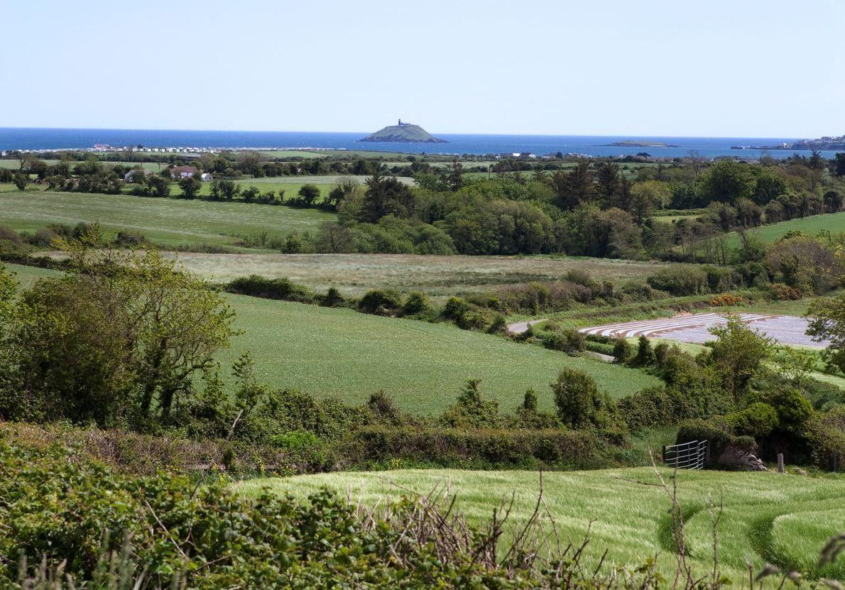 BALLYCOTTON, IRLANDE - Avec son phare et ses falaises d'où l'on peut observer les baleines, ce ...