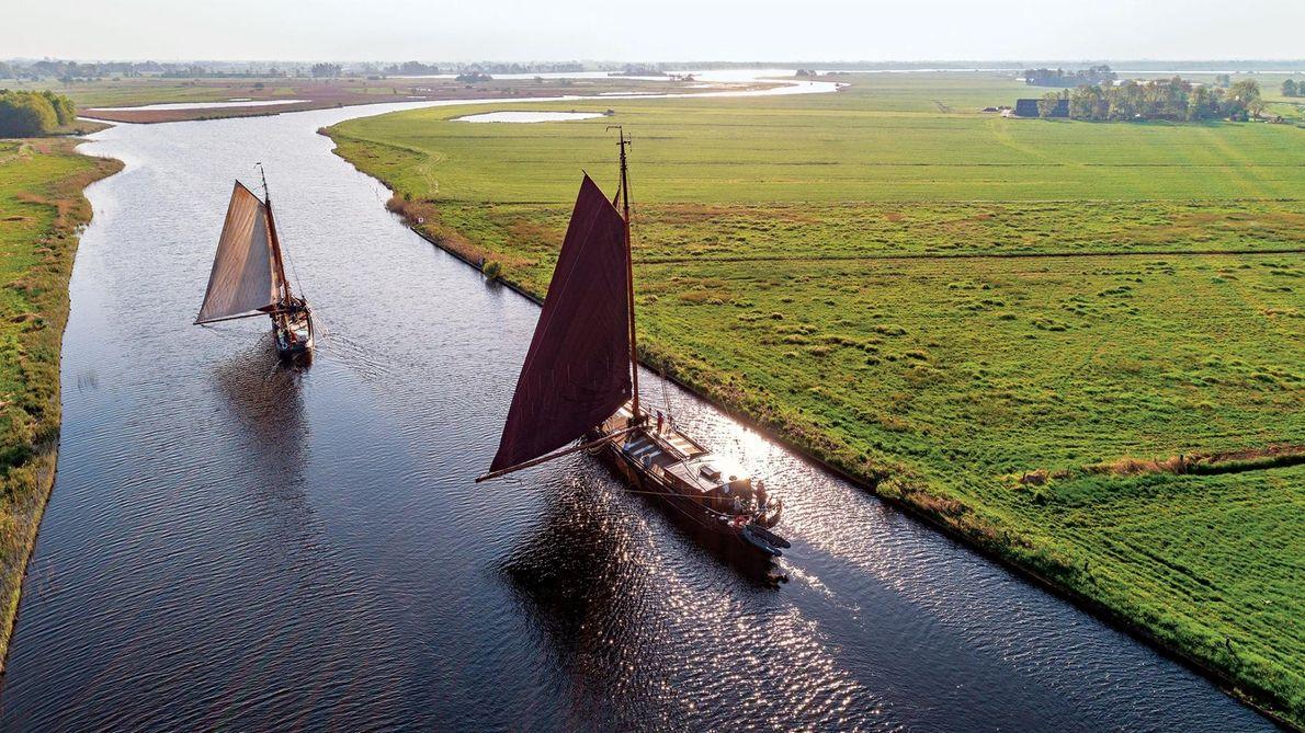 BLOKZIJL, PAYS-BAS - C'est dans la province d'Overijssel, dans l'est du pays que se trouve ce ...