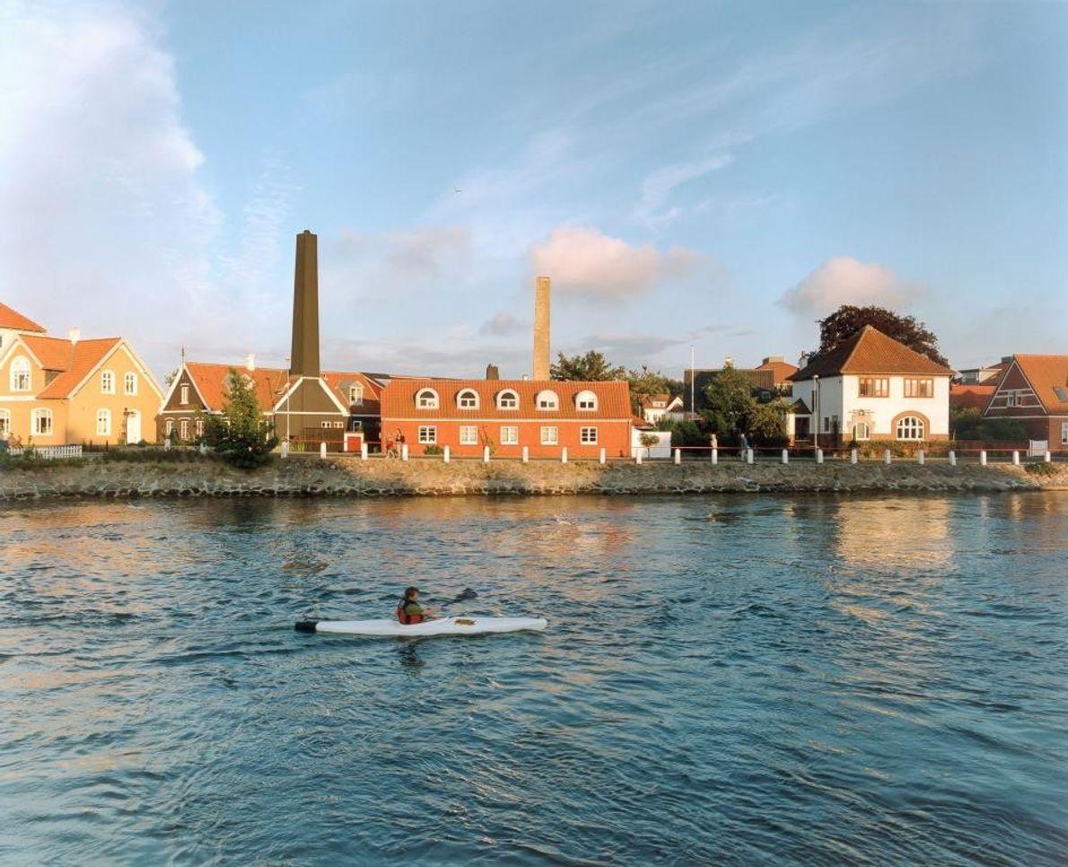 KERTEMINDE, DANEMARK - Cette ville portuaire située sur l'île de Funen a accueilli au début du ...