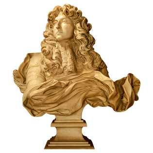 Buste de Louis XIV par Gian Lorenzo Bernini. Château de Versailles.