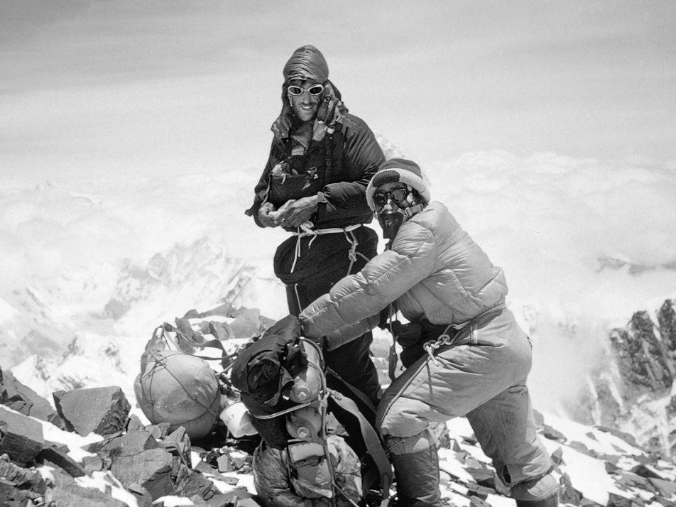 66 ans d'ascension de l'Everest en images