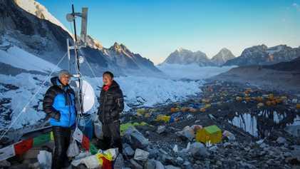 À la rencontre du Sherpa qui a relié l'Everest au wifi