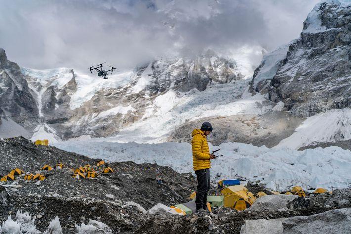 À l'aide d'un drone, Chris Millbern compile la collection de données photogrammétriques la plus détaillée jamais ...